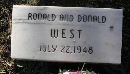 WEST, RONALD - Yavapai County, Arizona | RONALD WEST - Arizona Gravestone Photos