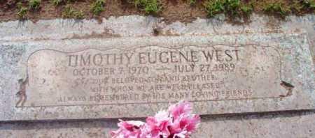 WEST, TIMOTHY EUGENE - Yavapai County, Arizona | TIMOTHY EUGENE WEST - Arizona Gravestone Photos