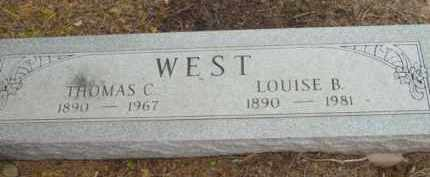 WEST, LOUISE BERTHE - Yavapai County, Arizona | LOUISE BERTHE WEST - Arizona Gravestone Photos