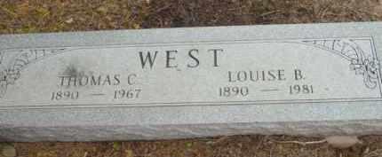 WEST, LOUISE BERTHE - Yavapai County, Arizona   LOUISE BERTHE WEST - Arizona Gravestone Photos