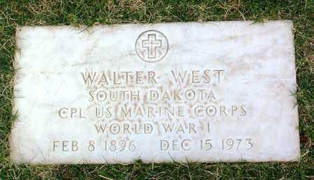 WEST, WALTER - Yavapai County, Arizona | WALTER WEST - Arizona Gravestone Photos