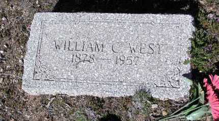 WEST, WILLIAM CLARK - Yavapai County, Arizona   WILLIAM CLARK WEST - Arizona Gravestone Photos