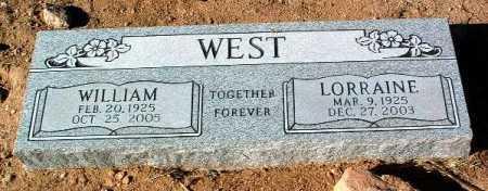 WEST, LORRAINE - Yavapai County, Arizona | LORRAINE WEST - Arizona Gravestone Photos