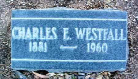 WESTFALL, CHARLES E. - Yavapai County, Arizona | CHARLES E. WESTFALL - Arizona Gravestone Photos