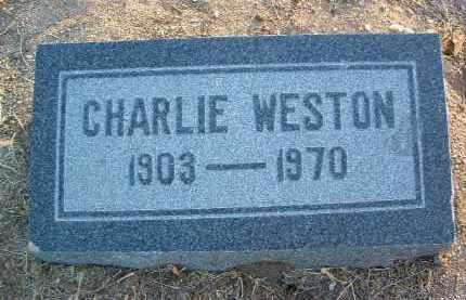 WESTON, CHARLIE - Yavapai County, Arizona | CHARLIE WESTON - Arizona Gravestone Photos