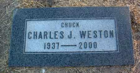 WESTON, CHARLES J. - Yavapai County, Arizona   CHARLES J. WESTON - Arizona Gravestone Photos