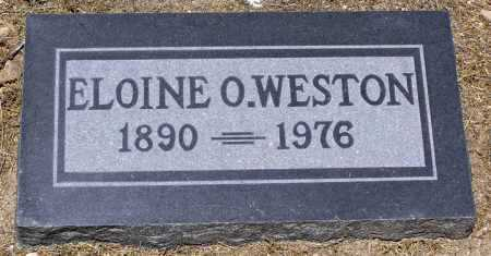 WESTON, ELOINE O. - Yavapai County, Arizona | ELOINE O. WESTON - Arizona Gravestone Photos