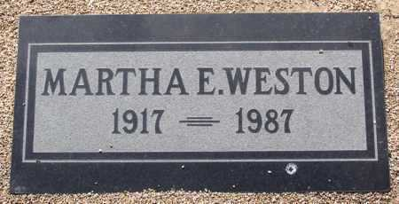 WESTON, MARTHA ELNA - Yavapai County, Arizona | MARTHA ELNA WESTON - Arizona Gravestone Photos
