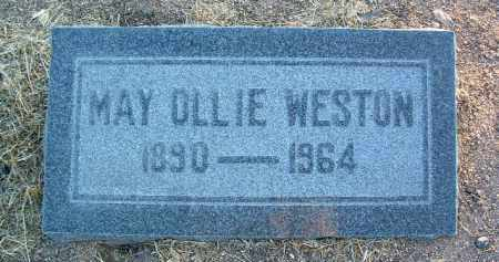WESTON, MAY OLLIE - Yavapai County, Arizona   MAY OLLIE WESTON - Arizona Gravestone Photos