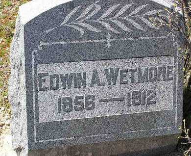 WETMORE, EDWIN A. - Yavapai County, Arizona | EDWIN A. WETMORE - Arizona Gravestone Photos