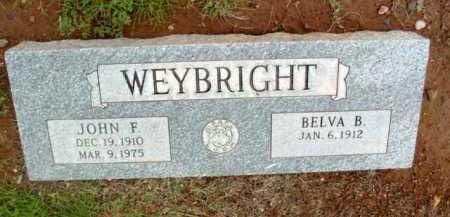 WEYBRIGHT, BELVA B. - Yavapai County, Arizona | BELVA B. WEYBRIGHT - Arizona Gravestone Photos