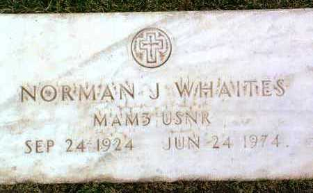 WHAITES, NORMAN J. - Yavapai County, Arizona | NORMAN J. WHAITES - Arizona Gravestone Photos