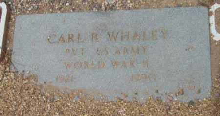 WHALEY, CARL REGINALD - Yavapai County, Arizona | CARL REGINALD WHALEY - Arizona Gravestone Photos