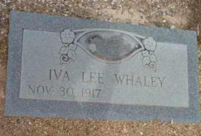 WHALEY, IVA LEE - Yavapai County, Arizona | IVA LEE WHALEY - Arizona Gravestone Photos