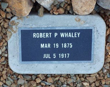 WHALEY, ROBERT PENSTON - Yavapai County, Arizona | ROBERT PENSTON WHALEY - Arizona Gravestone Photos