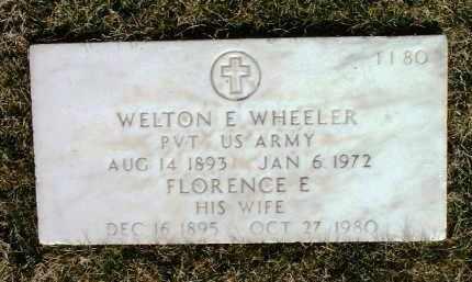 WHEELER, FLORENCE E. - Yavapai County, Arizona | FLORENCE E. WHEELER - Arizona Gravestone Photos