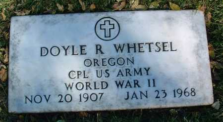 WHETSEL, DOYLE R. - Yavapai County, Arizona | DOYLE R. WHETSEL - Arizona Gravestone Photos