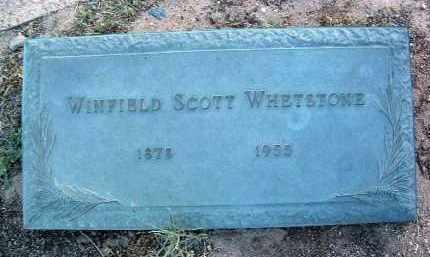 WHETSTONE, WINFIELD SCOTT - Yavapai County, Arizona | WINFIELD SCOTT WHETSTONE - Arizona Gravestone Photos