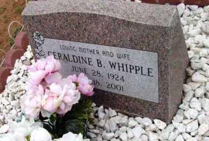 WHIPPLE, GERALDINE B. - Yavapai County, Arizona | GERALDINE B. WHIPPLE - Arizona Gravestone Photos