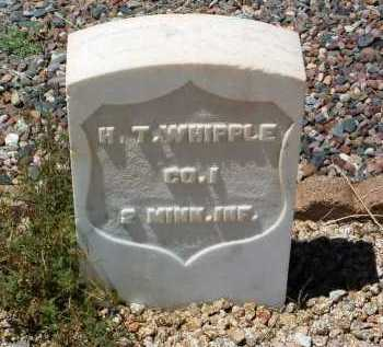 WHIPPLE, HARRISON TYLER - Yavapai County, Arizona | HARRISON TYLER WHIPPLE - Arizona Gravestone Photos
