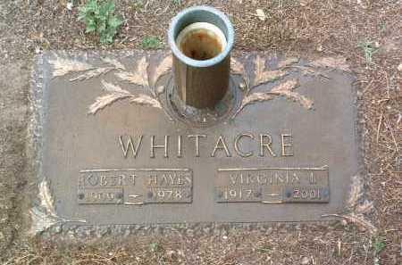 WHITACRE, ROBERT HAYES - Yavapai County, Arizona   ROBERT HAYES WHITACRE - Arizona Gravestone Photos