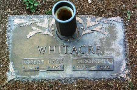 WHITACRE, VIRGINIA J. - Yavapai County, Arizona | VIRGINIA J. WHITACRE - Arizona Gravestone Photos