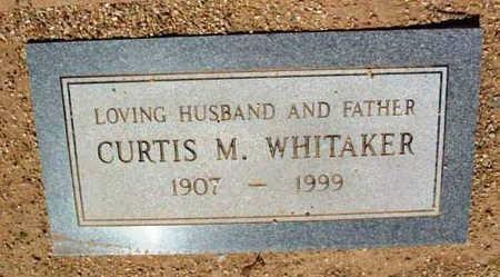 WHITAKER, CURTIS M. - Yavapai County, Arizona | CURTIS M. WHITAKER - Arizona Gravestone Photos