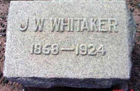 WHITAKER, JAMES WM. - Yavapai County, Arizona   JAMES WM. WHITAKER - Arizona Gravestone Photos