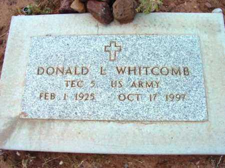 WHITCOMB, DONALD L. - Yavapai County, Arizona   DONALD L. WHITCOMB - Arizona Gravestone Photos