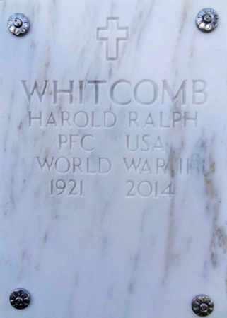 WHITCOMB, HAROLD RALPH - Yavapai County, Arizona | HAROLD RALPH WHITCOMB - Arizona Gravestone Photos