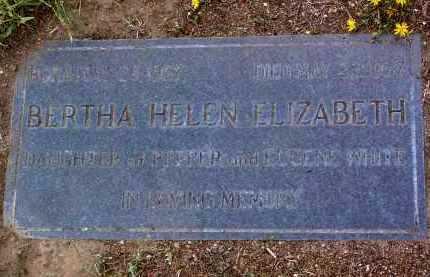 WHITE, BERTHA HELEN - Yavapai County, Arizona | BERTHA HELEN WHITE - Arizona Gravestone Photos