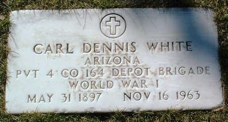 WHITE, CARL DENNIS - Yavapai County, Arizona | CARL DENNIS WHITE - Arizona Gravestone Photos