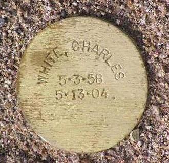 WHITE, CHARLES - Yavapai County, Arizona   CHARLES WHITE - Arizona Gravestone Photos
