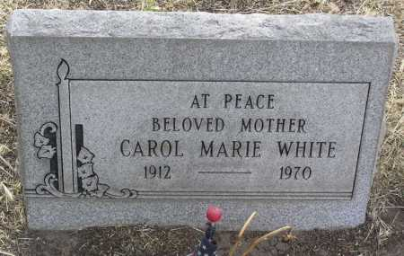 WHITE, CAROL MARIE - Yavapai County, Arizona | CAROL MARIE WHITE - Arizona Gravestone Photos