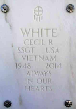 WHITE, CECIL ROBERT - Yavapai County, Arizona | CECIL ROBERT WHITE - Arizona Gravestone Photos