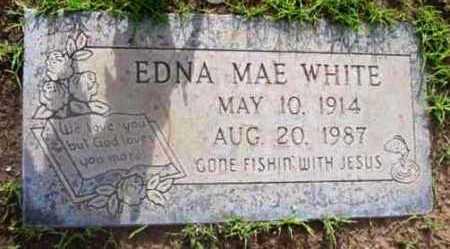 WHITE, EDNA MAE - Yavapai County, Arizona | EDNA MAE WHITE - Arizona Gravestone Photos