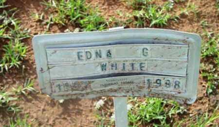WHITE, EDNA G. - Yavapai County, Arizona | EDNA G. WHITE - Arizona Gravestone Photos