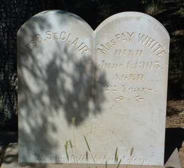 WHITE, FAY - Yavapai County, Arizona | FAY WHITE - Arizona Gravestone Photos