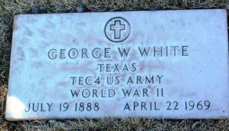 WHITE, GEORGE W. - Yavapai County, Arizona | GEORGE W. WHITE - Arizona Gravestone Photos