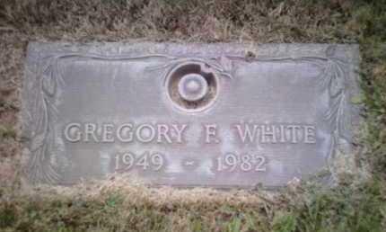 WHITE, GREGORY F. - Yavapai County, Arizona | GREGORY F. WHITE - Arizona Gravestone Photos