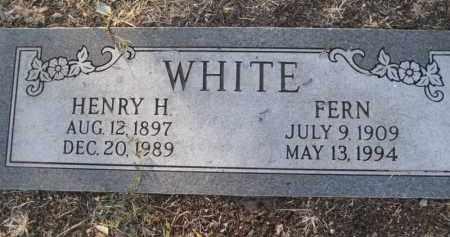 WHITE, FERN - Yavapai County, Arizona | FERN WHITE - Arizona Gravestone Photos