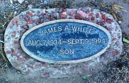 WHITE, JAMES A. - Yavapai County, Arizona | JAMES A. WHITE - Arizona Gravestone Photos