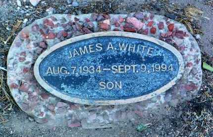 WHITE, JAMES A. - Yavapai County, Arizona | JAMES A. WHITE - Arizona Gravestone Photos