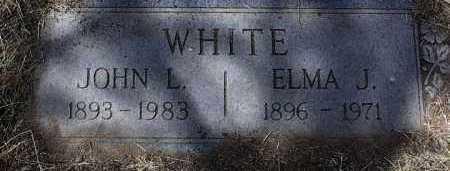 WHITE, ELMA J. - Yavapai County, Arizona | ELMA J. WHITE - Arizona Gravestone Photos