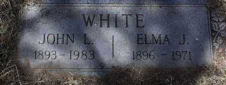 WHITE, ELMA J. - Yavapai County, Arizona | ELMA J. WHITE - Arizona Gravestone Photos