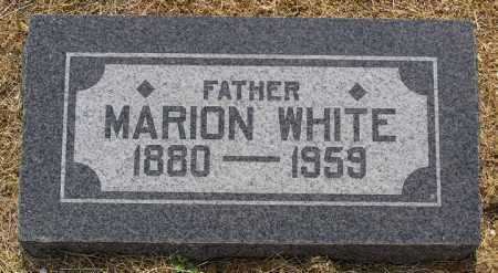WHITE, MARION FRANCIS - Yavapai County, Arizona | MARION FRANCIS WHITE - Arizona Gravestone Photos