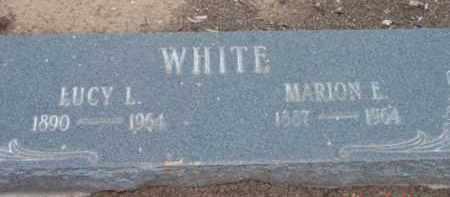 WHITE, MARION ELIAS - Yavapai County, Arizona | MARION ELIAS WHITE - Arizona Gravestone Photos