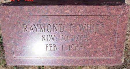 WHITE, RAYMOND F. - Yavapai County, Arizona | RAYMOND F. WHITE - Arizona Gravestone Photos