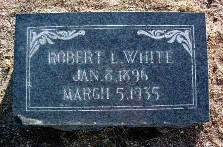 WHITE, ROBERT LAURENCE - Yavapai County, Arizona | ROBERT LAURENCE WHITE - Arizona Gravestone Photos