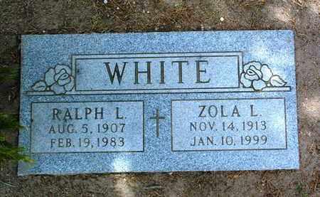 WHITE, RALPH LAFAYETTE - Yavapai County, Arizona | RALPH LAFAYETTE WHITE - Arizona Gravestone Photos